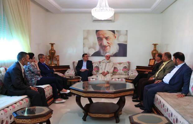 حقوقيون في زيارة الأستاذ محمد عبادي